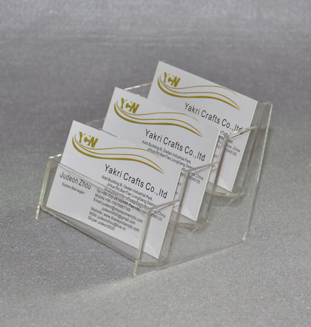 Multi Pocket Business Card Stand