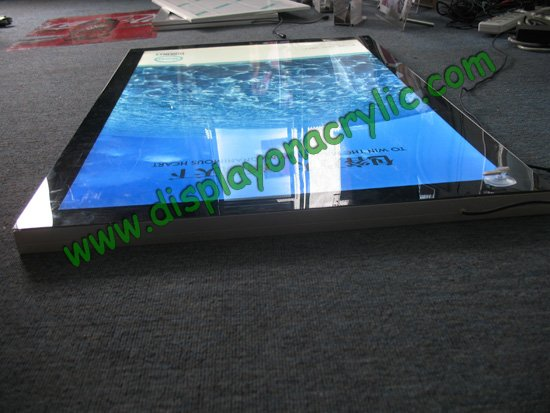 slim magnetic led light panel