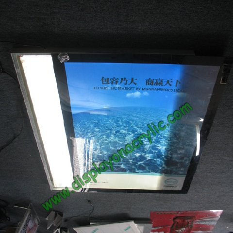 slim magnetic led light boxes