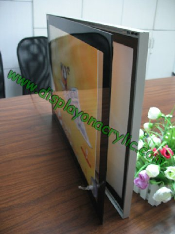 slim magnetic led light box