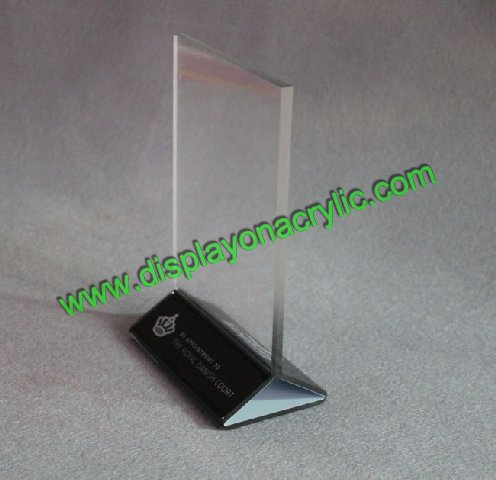 table tent counter