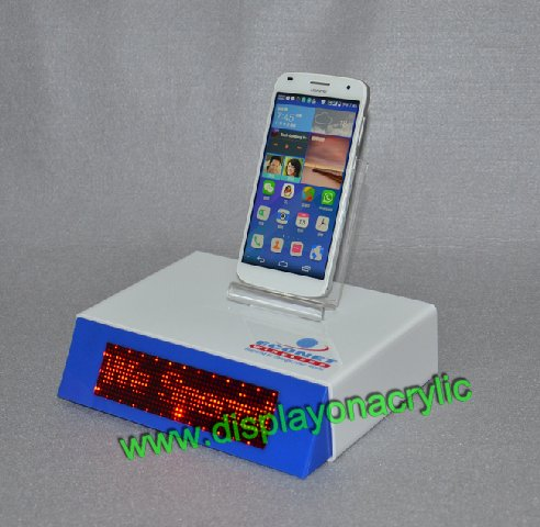 Acrylic Phone Stands With LED Screen