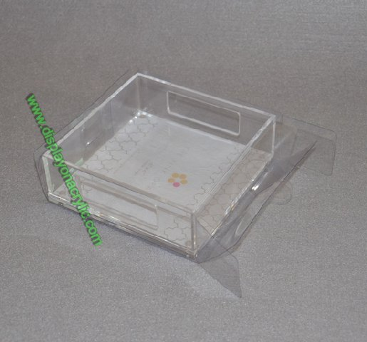 lucite present tray