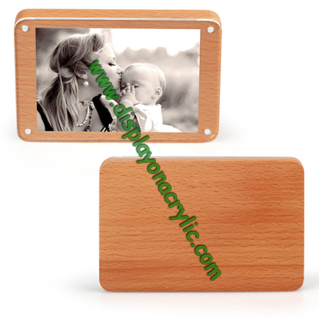 acrylic wood picture frame