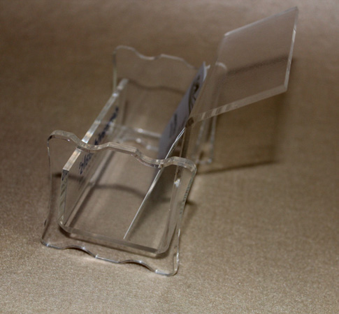 plexiglass business card holders(2)