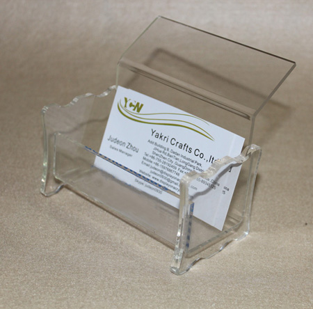 Business Card Holder Counter Brochure Stand Plexiglass