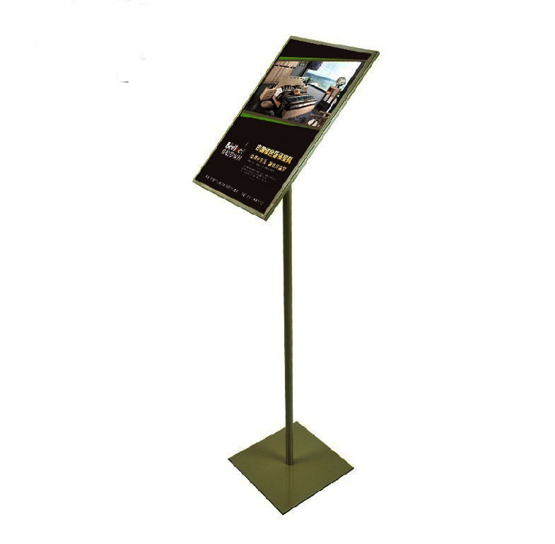 floorstanding snap frames sign holder
