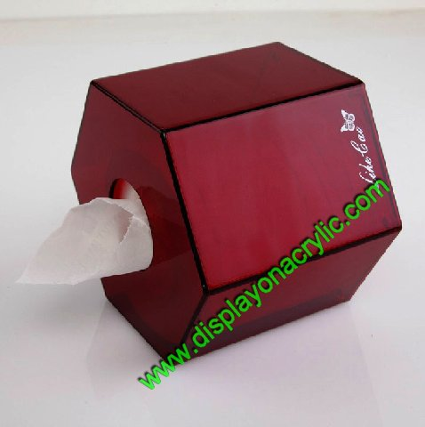 hexagon tissue box