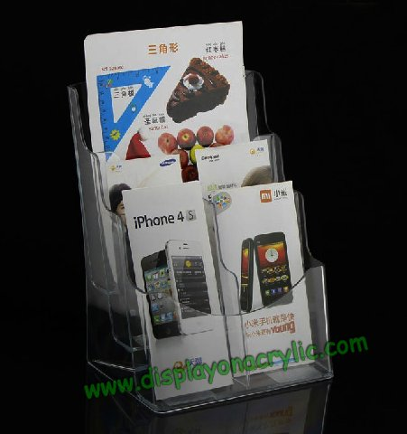 Acrylic Display Countertop Literature Holder Business Card