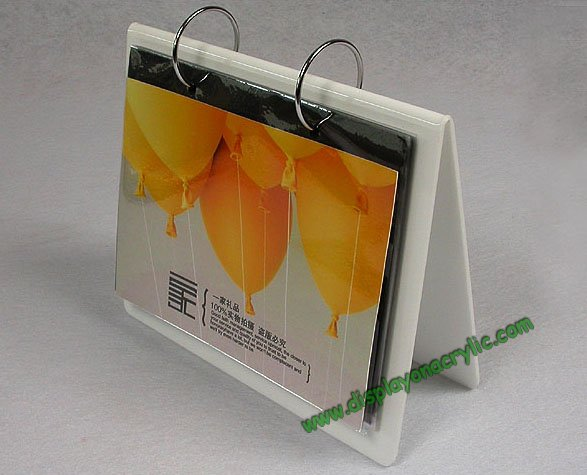 plastic calendar holder