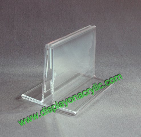 Countertop Sign Holder AcrylicTable Tent DisplayMenu Cover Stands - Acrylic table tent holders