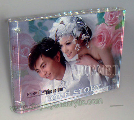 Cadre Photo Plexiglass