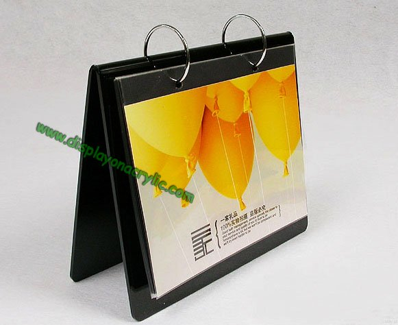 plastic calendar holders displays