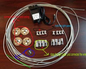 accessories for cable hanging systems