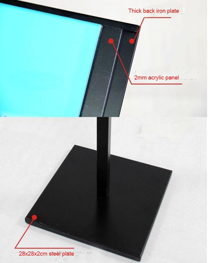 Very best Floor Standing Sign Holders|POP display Stand|Pedestal Floor Stands TI84