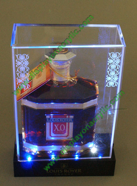 Attractive Acrylic Display Box|LED Light Boxes|LED Wine Holders SC18